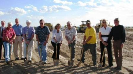 Groundbreaking of the Airport Taxilane Extension