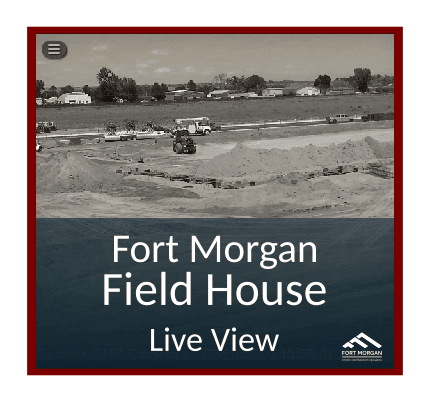 Fort Morgan Field House Live View