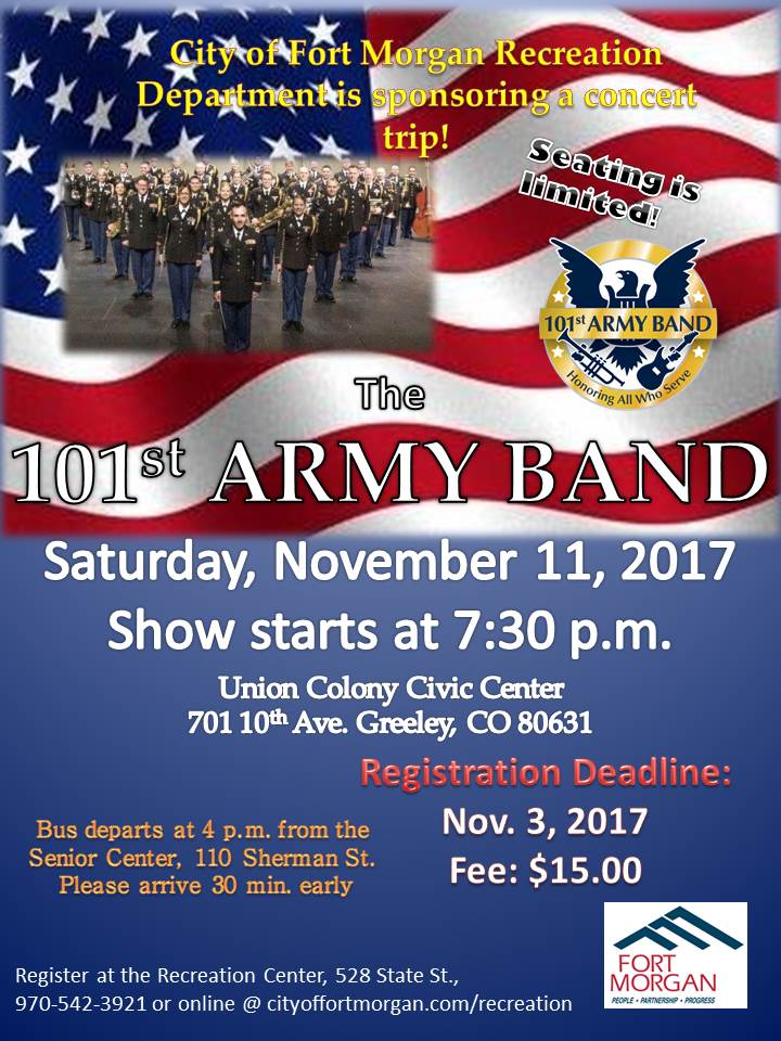 jb - 2017 101st Army Band Flyer