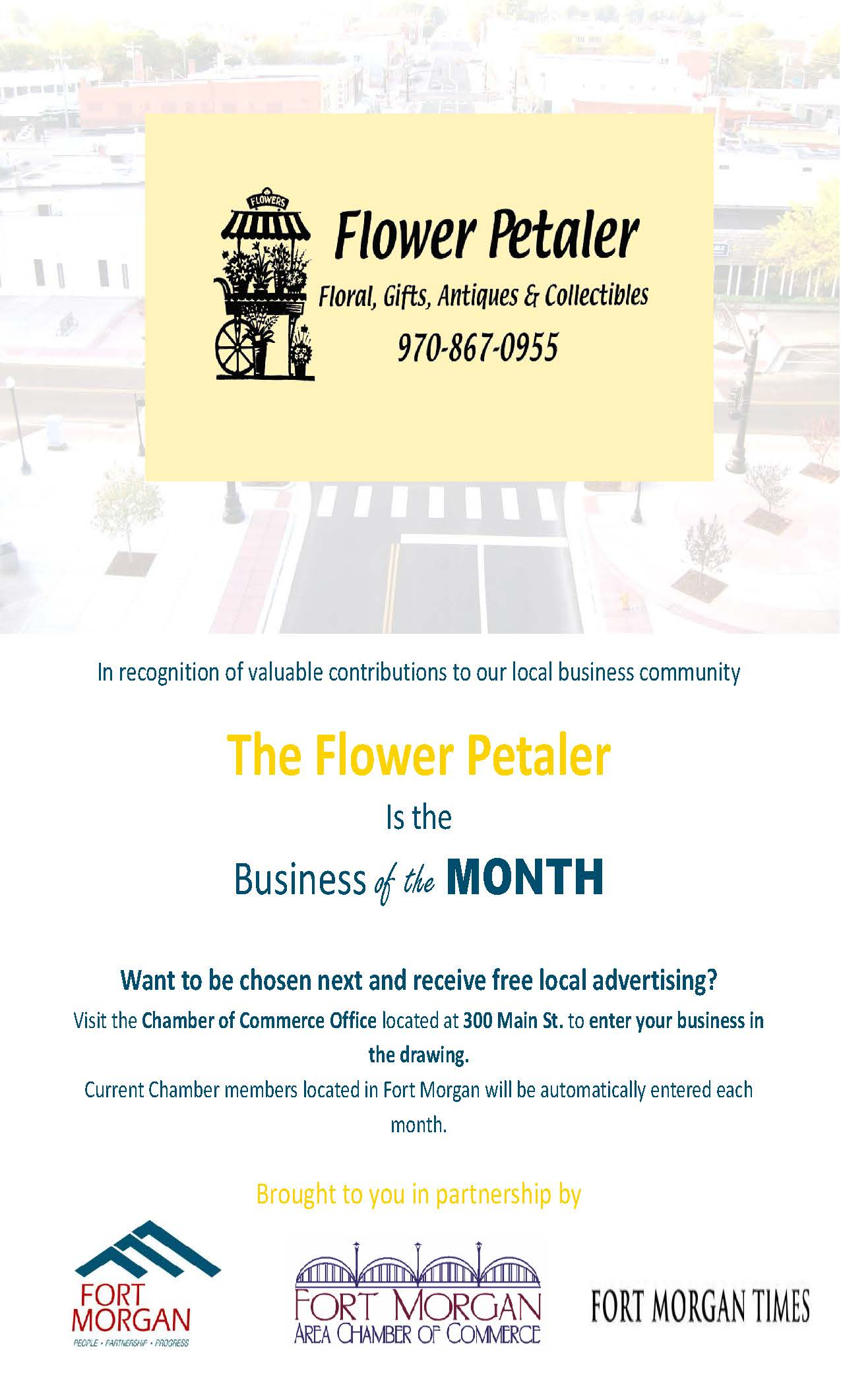 May business of the month press release